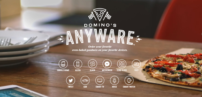 dominos anyware conversational ai
